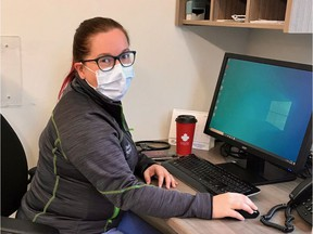 Many people are enjoying new ways of doing things, such as virtual doctor appointments. Dr. Jamie Szabo is one of the many doctors  that has been holding appointments over the phone or through video chat to decrease the time patients have to spend out of their homes. supplied photo.