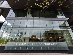 Calgary Board of Education headquarters in downtown Calgary.