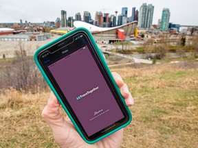The Alberta government's ABTraceTogether app has been criticized for its inability to work on iPhones and older Android devices.