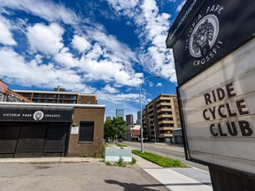 Pictured is Ride Cycle Club in Calgary on Thursday, July 16, 2020.