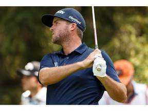 Canada's Taylor Pendrith has moved up in the golf world after being a star on the Mackenzie Tour. Postmedia file