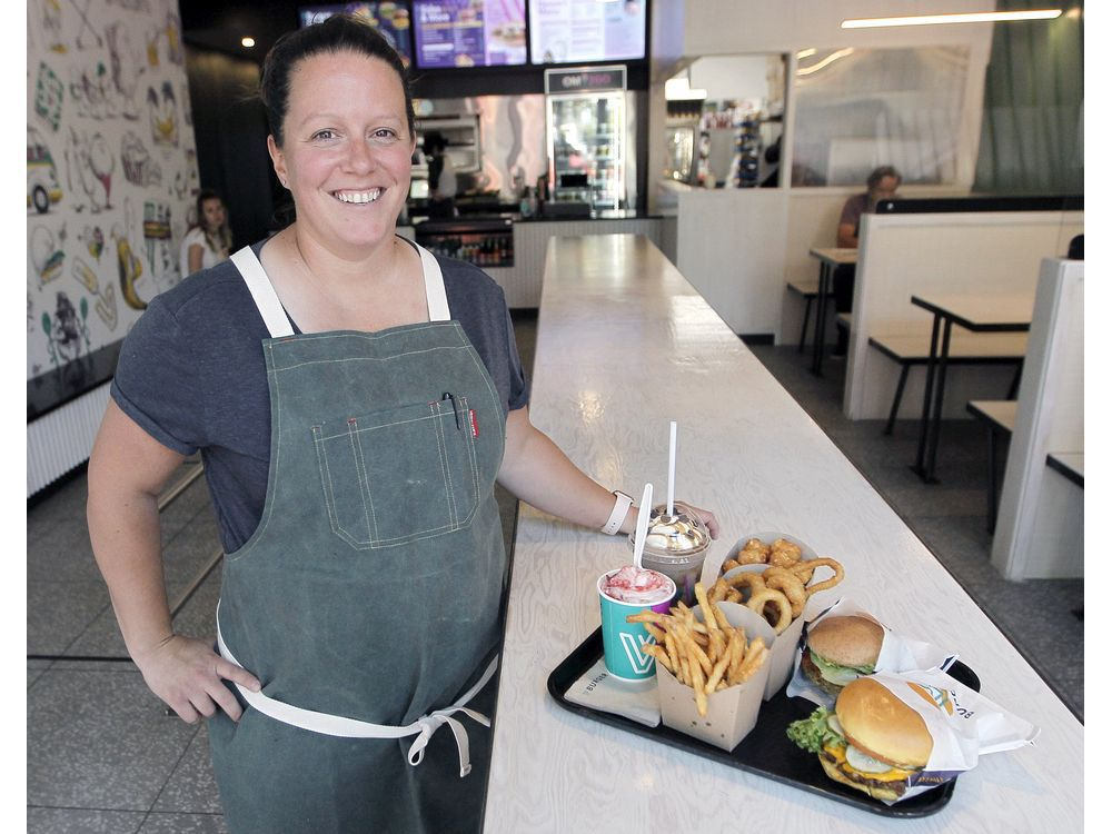 Chorney-Booth: VBurger slings perfect fast food without the meat or dairy