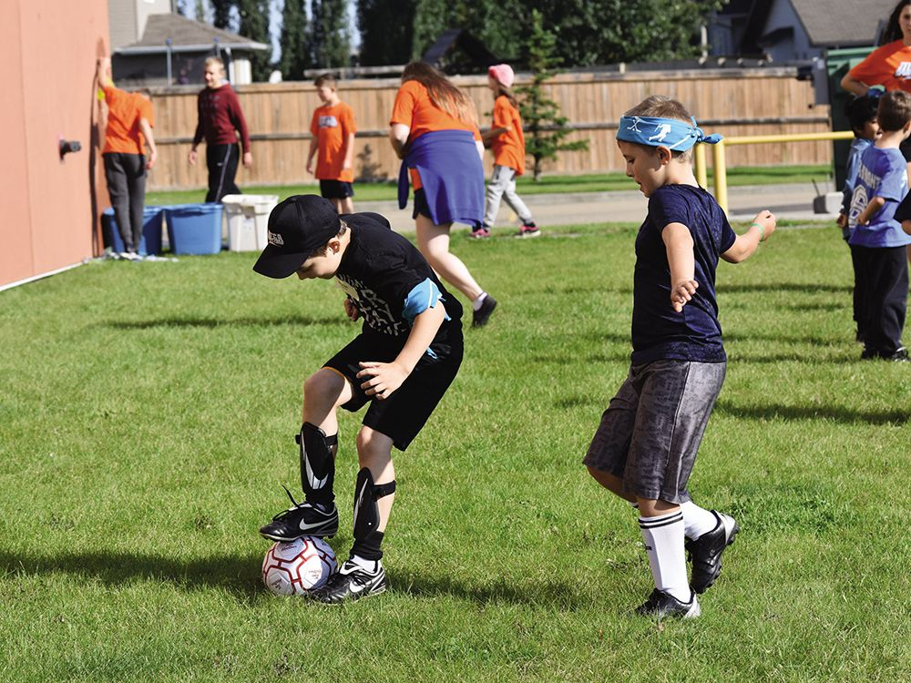 Postmedia file photo. The Calgary Adaptive Hub (CAH) project was created to increase access to sport opportunities for children with physical, mental, sensory and developmental disabilities.