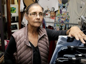 Ursula Wegen, owner of Under the Bridge Fashions is upset she didn't qualify for the federal commercial rent relief program, which is set to expire at the end of August. Friday, August 28, 2020.