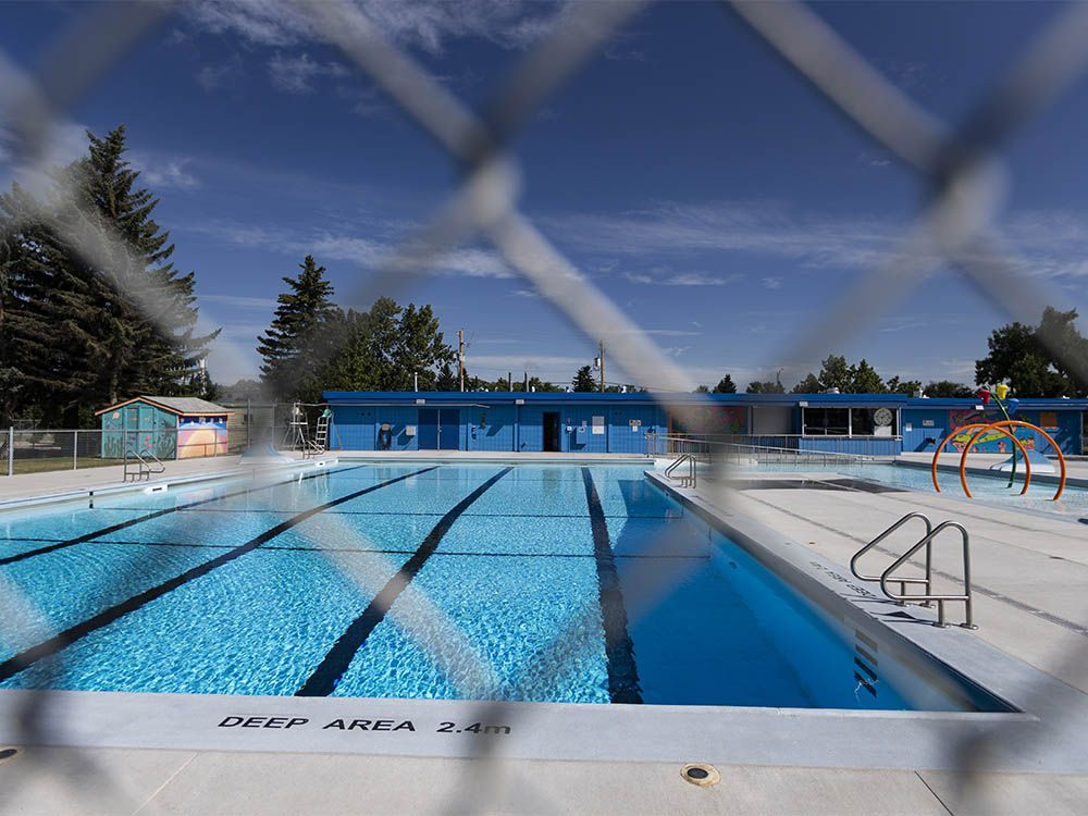 Swimming pools closed due to fecal contamination