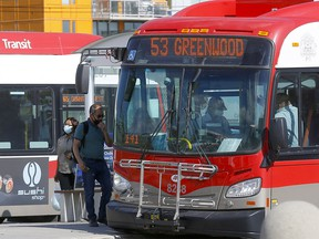 Calgary Transit returned to full capacity and lifted its COVID-19-related seating restrictions starting today in Calgary on Monday, August 17, 2020.