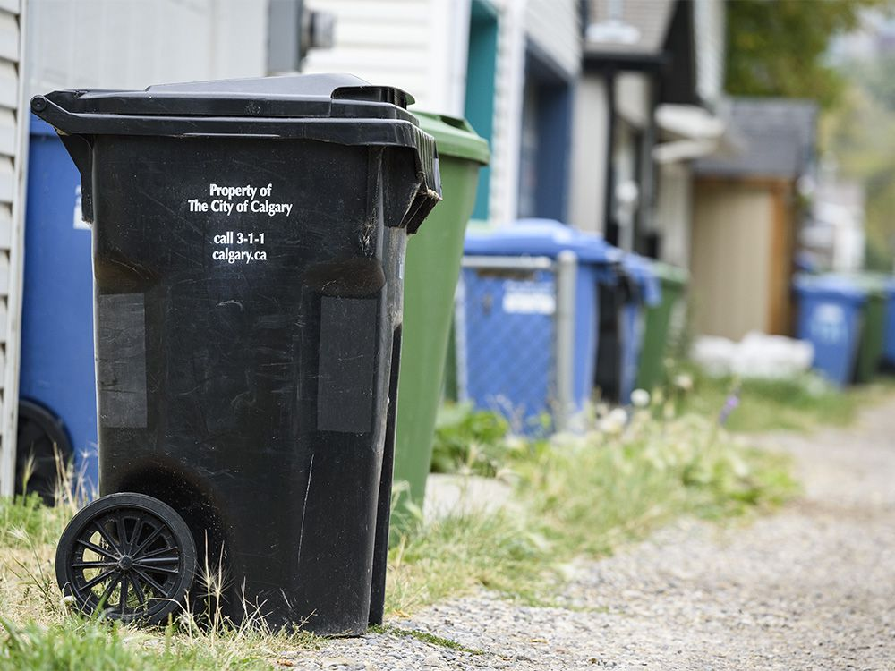 Calgary's west, northwest to see privatized garbage collection in city... image