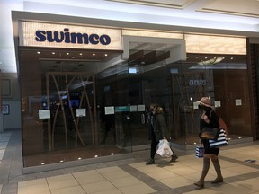 After 40 years in business Swimco has gone bankrupt in Calgary on Monday, October 19, 2020.