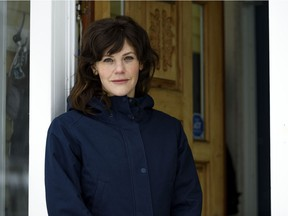 Dr. Jackie Mann poses for a photo at her home in Calgary on Thursday, Jan. 28, 2021.