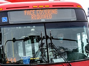 Calgary Transit drivers should be vaccinated to protect them, says a bus riding reader.
