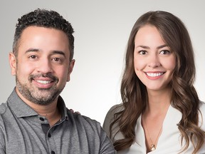 Hanif Joshaghani and Tiffany Kaminsky co-founded local tech company Symend, to help clients better deal with debt.