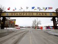 Entrance to Stampede Park, photographed on March 2, 2021.