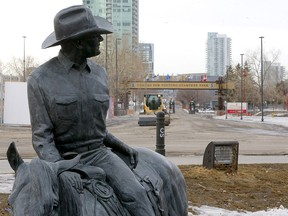 The Calgary Stampede is reported to have lost a lot of money due to the COVID-19 pandemic in Calgary on Tuesday, March 2, 2021.