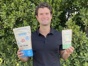 Calgarian and former NHL player T J Galiardi is co-founder of Outcast Foods, a nutrition company that is also tackling the problem of food waste.