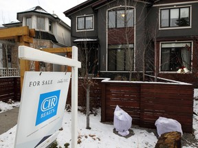 Home sales in Calgary have moved into sellers' territory.