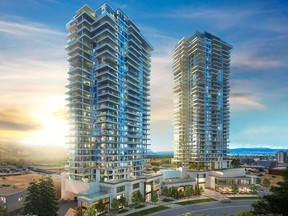 One Water Street, a new condo development in Kelowna with growing interest from Alberta buyers.