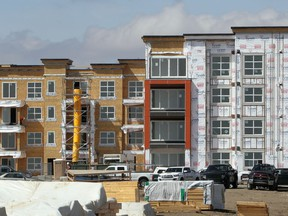 Sales of new multi-family homes in the outer edges of Calgary are strong.