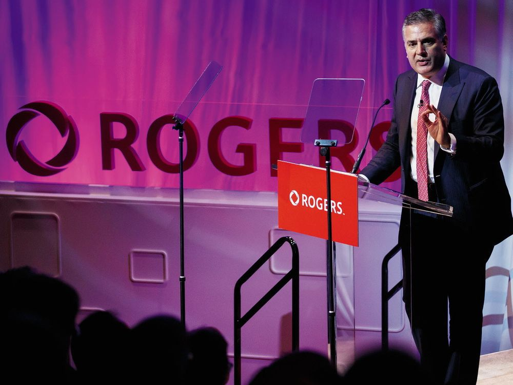 Rogers CEO: Canada needs 5G investment today to compete tomorrow