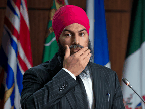 """NDP leader Jagmeet Singh: """"We will take a close look at the amendments and a close look at the bill before giving our final position."""""""