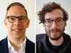 Two of the faces behind the online tools that are helping Canadians book COVID-19 vaccine appointments. Daniel Charles (left) is with Vaccine Finder Toronto, while Josh Kalpin (right) is helping people track down open appointments through Vaccine Hunters Canada