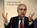 """Fatih Birol, International Energy Agency Executive Director: """"Our numbers, unfortunately, show this year global emissions will increase substantially."""""""