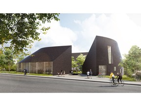 A rendering of the proposed new Canadian Japanese CommunityAssociation centre to be built in Killarney.