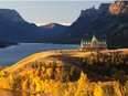 The iconic sight of the Prince of Wales Hotel at Waterton Lakes National Park (Image taken in fall of 2013). Courtesy, Andrew Penner