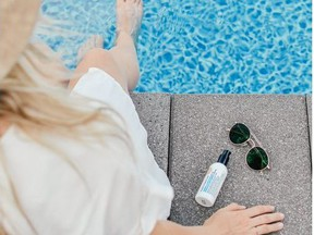 Reapply sunscreen frequently. Courtesy, Flore Tellier, Dermapure