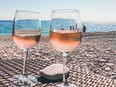 Rose is a perfect light summer wine. Getty Images