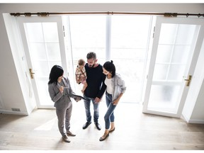 Realtors can work with people buying new homes, and some smaller home builders use realtors instead of sales staff.