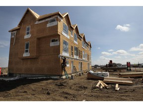 New multi-family homes — including apartment-style condos and townhomes — saw increased sales this spring.