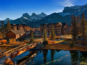 Spring Creek in Canmore.