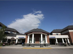 The AgeCare Midnapore care home is shown on Wednesday.