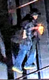The suspect is believed to have short hair and was wearing a black baseball hat, a black backpack, blue jeans, white-soled shoes and a long-sleeve plaid shirt. CPS/Photo