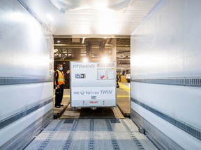 In March, FedEx was shipping Moderna vaccine from Europe through Toronto Pearson Airport, but a new facility will mean the company can produce it in Canada.