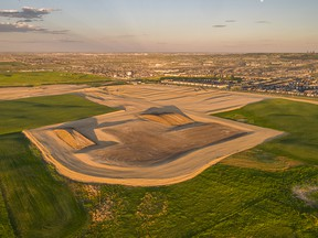 The new community of Glacier Ridge in Calgary's northwest will incorporate the natural landscape into its design.  SUPPLIED