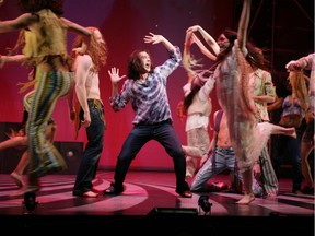 The trippy, hippie rock musical Hair stirred plenty of controversy when it hit the stage more than half a century ago, but its themes and music have withstood the test of time, as it's been performed again and again over the years; the production is this photo was staged about 15 years ago. Postmedia archives.