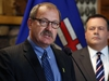 UCP MLA Ric McIver endorsed Jason Kenney in the leadership race for the new party during an announcement in Calgary on Wednesday September 13, 2017.  Gavin Young/Postmedia  Postmedia Calgary Gavin Young, Calgary Herald