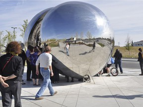 The city paid $559,000 in 2012 for Wishing Well. The too-hot-to-handle sculpture is in storage.