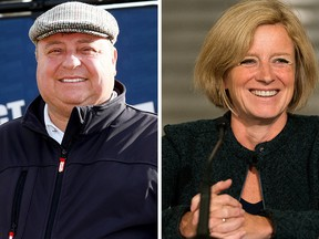 Joe Magliocca and Rachel Notley. Magliocca is in favour of setting term limits on city councillors, as well as allowing for recall elections for unpopular politicians.