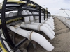 Pipes are seen at the Kinder Morgan Trans Mountain facility in Edmonton, Alta., Thursday, April 6, 2017. The National Energy Board will hold hearings in British Columbia and Alberta to review proposals by Trans Mountain for its detailed pipeline corridor through the two provinces. THE CANADIAN PRESS/Jonathan Hayward ORG XMIT: CPT131