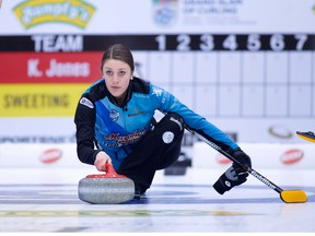 Kaitlyn Jones at the Humpty's Champions Cup.