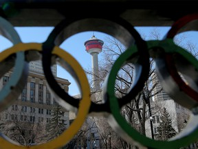 Calgary is on the list released by the International Olympic Committee of cities interested in hosting the Winter Games in 2026. Leah Hennel/Postmedia