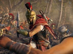A screen grab from Assassin's Creed Odyssey.
