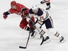 Carolina Hurricanes' Derek Ryan (7) and Edmonton Oilers' Leon Draisaitl (29), of Germany, chase the puck during the third period of an NHL hockey game in Raleigh, N.C., Tuesday, March 20, 2018. Edmonton won 7-3. (AP Photo/Gerry Broome) ORG XMIT: NCGB112