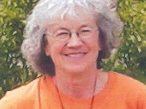 Stephanie Stewart is shown in an undated handout photo. A ground and water search is underway north of Hinton in the continuing investigation of the disappearance of Stephanie Stewart.