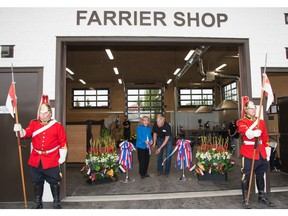 Spruce Meadows' new farrier shop was photographed on Tuesday, September 4, 2018. Spruce Meadows Media photo