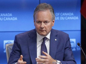 Bank of Canada Governor Stephen Poloz speaks at a press conference after releasing the June issue of the Financial System Review in Ottawa on June 7, 2018.
