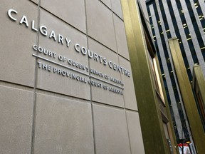 File pics of Calgary Courts in Calgary on Monday November 26, 2018. Darren Makowichuk/Postmedia