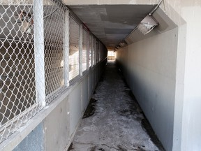 The city has decided to close the pedestrian underpass beneath  Glenmore Trail S.E. near Macleod Trail after numerous complaints of drug use and disorderly activity.